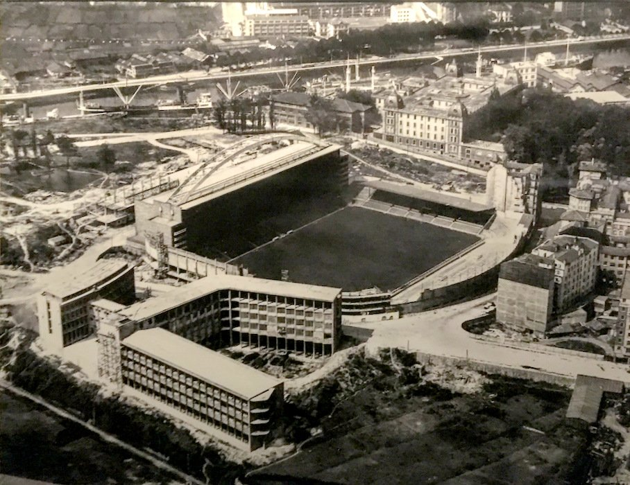 RT @athletictxistu: San Mames. Año 1953. https://t.co/4SOu8d5jYq