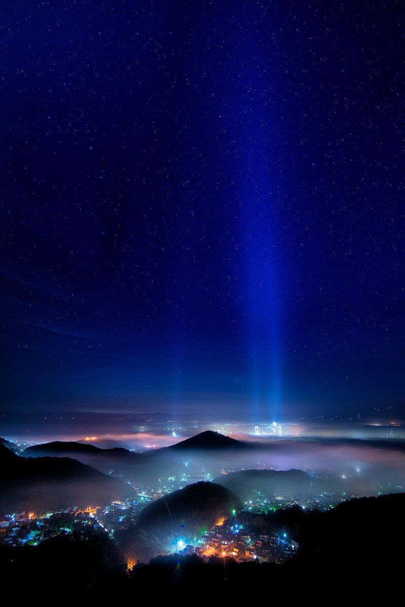 RT @muroranyakei: 昨日の室蘭ヤバすぎです。 もう宇宙です!  #tokyocameraclub https://t.co/4XMncBmk55