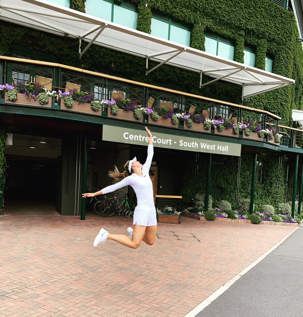 There's just really nothing like it ????????♀️ @Wimbledon https://t.co/ABSVr8j9Me
