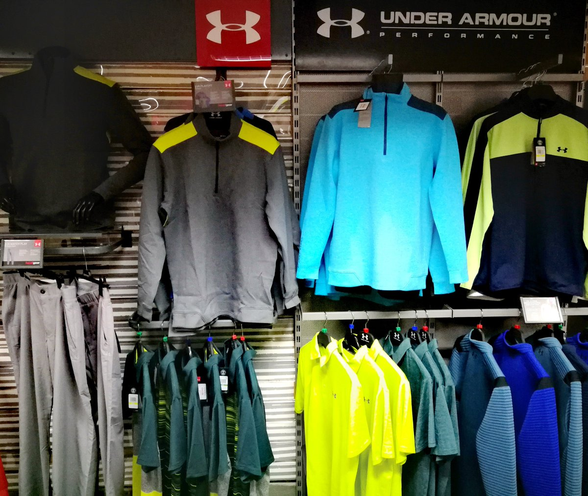 test Twitter Media - The NEW Summer 2019 #Golf range from @UnderArmour is here.   Check out our latest arrivals including the Play-Off Polo and Performance Shorts from £39.99 & golf shoes from £89.99.  Visit @CottrellParkLtd today.  https://t.co/sjYK8ua007     Tel: 01446 781781 (opt. 1) https://t.co/77DGoHrVtW