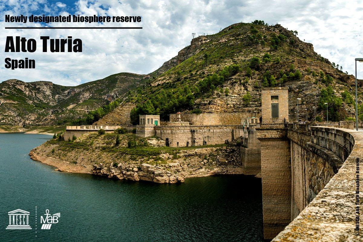 RT @UNESCO_MAB: Nueva #reservaDeBiosfera @UNESCO_MAB : Alto Turia #España  ℹ https://t.co/8DCwkO9Nsj Felicidades! https://t.co/6t40o7nAFg