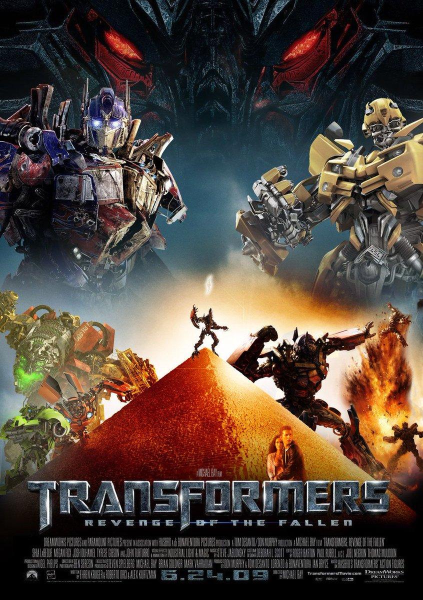 RT @gritapop: #UnDíaComoHoy del año 2009 se estenó la película #Transformers