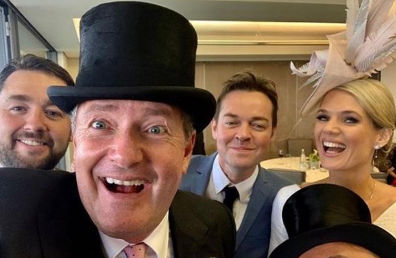 Susanna Reid and Piers Morgan get boozy at Ascot alongside Liam Payne and Helen Flanagan https://t.co/Hs8TbHnjJQ https://t.co/OkxqCzJJqN