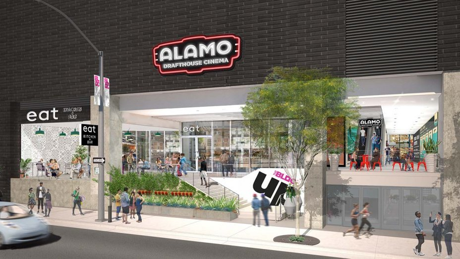 The first AlamoDrafthouse in Los Angeles will begin opening its doors for business soon