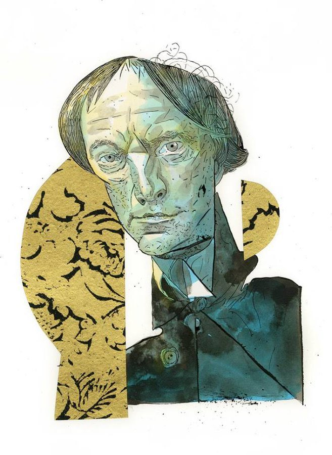 @DaveMcKean is writing and illustrating a graphic novel about Arthur Machen. It's hard to verbalise how excited I am about this. Dave McKean has been my favourite illustrator for twenty years and Machen, well 🔥🔥🔥🖤🖤🖤 https://t.co/xUB8KVobkT