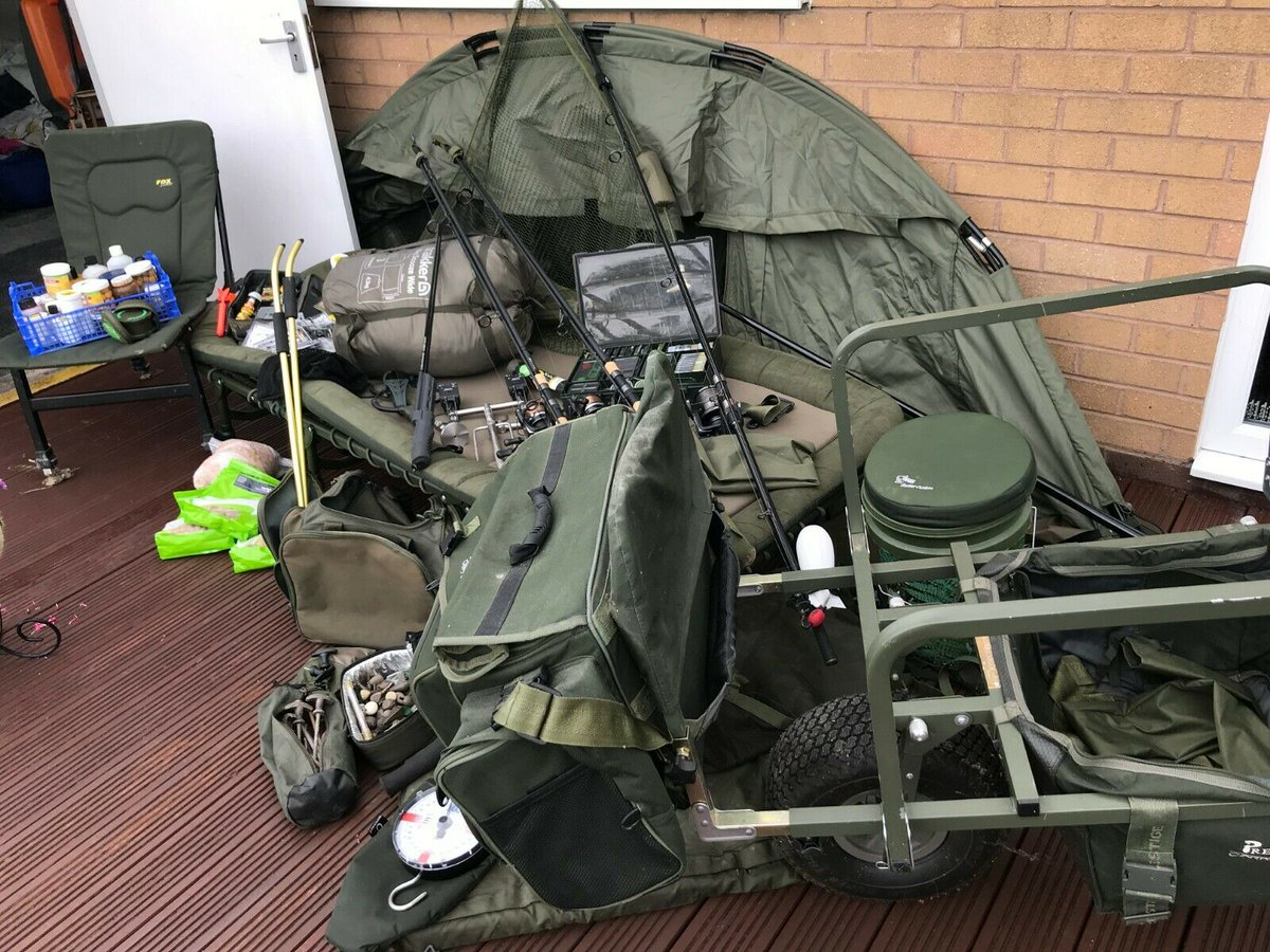 Ad - Complete Carp Fishing Tackle Outfit For Sale On eBay here -->> https://t.co/PlrlIevsKW  #