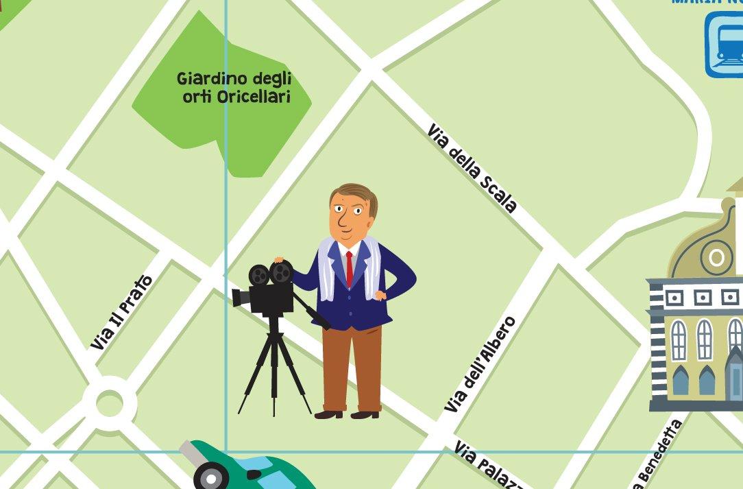 test Twitter Media - Noi lo ricorderemo così, immortalato sulla #mappa di #Firenze.  R.I.P. Franco #Zeffirelli https://t.co/8PDGisaW2i