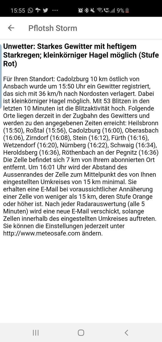#Gewitter #cadolzburg https://t.co/ZAVWQwnLGK
