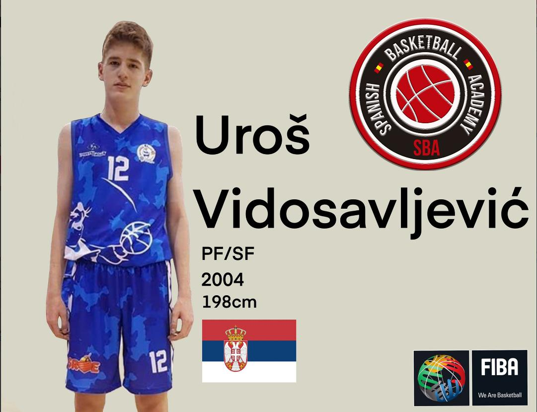 Uros Vidosavljevic (2004- PF/SF- 198cm) is a new member of @SBballAcademy from Madrid, Spain. https://t.co/kQ3zzK6azA