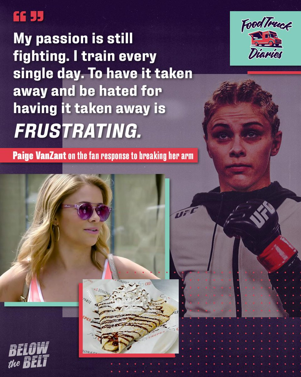RT @btbshowtime: Don't hate the fighter, hate the game.  @paigevanzant ???????? https://t.co/lUioXQ3mBw