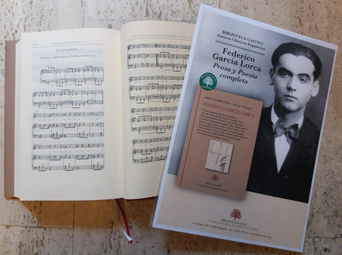 """test Twitter Media - Celebramos el #DiaDeLaMusica con estas partituras de #Lorca donde puso música a una colección de Canciones populares antiguas, como la de """"Los pelegrinitos"""" https://t.co/wwcZ0slFX6 https://t.co/PsdKSlK7wr"""