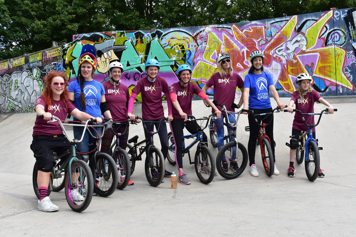 RT @AShigh_sheriff: It's back! Join us for the 2nd Oxford #BMXercise session   📆29 June 📍Oxford Wheels Project, Meadow Lane (behind the playground) ⏰ 10-11am 💷FREE 🤷‍♀️Women & Girls of all abilities 🚴‍♀️Bikes & helmets provide  #fitgotfun