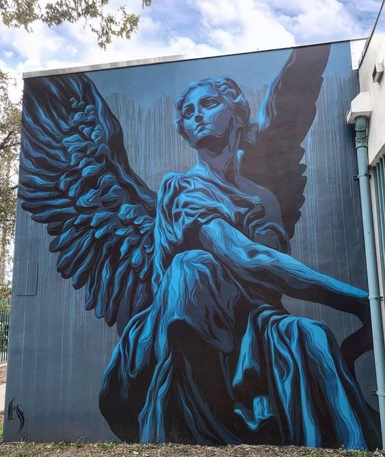 ... beautiful as freedom. Art by Eric Skotnes in Miami #StreetArt #Art #Wings #Freedom #Graffiti #Mural #UrbanArt #Miami https://t.co/iNv8rlJi4l