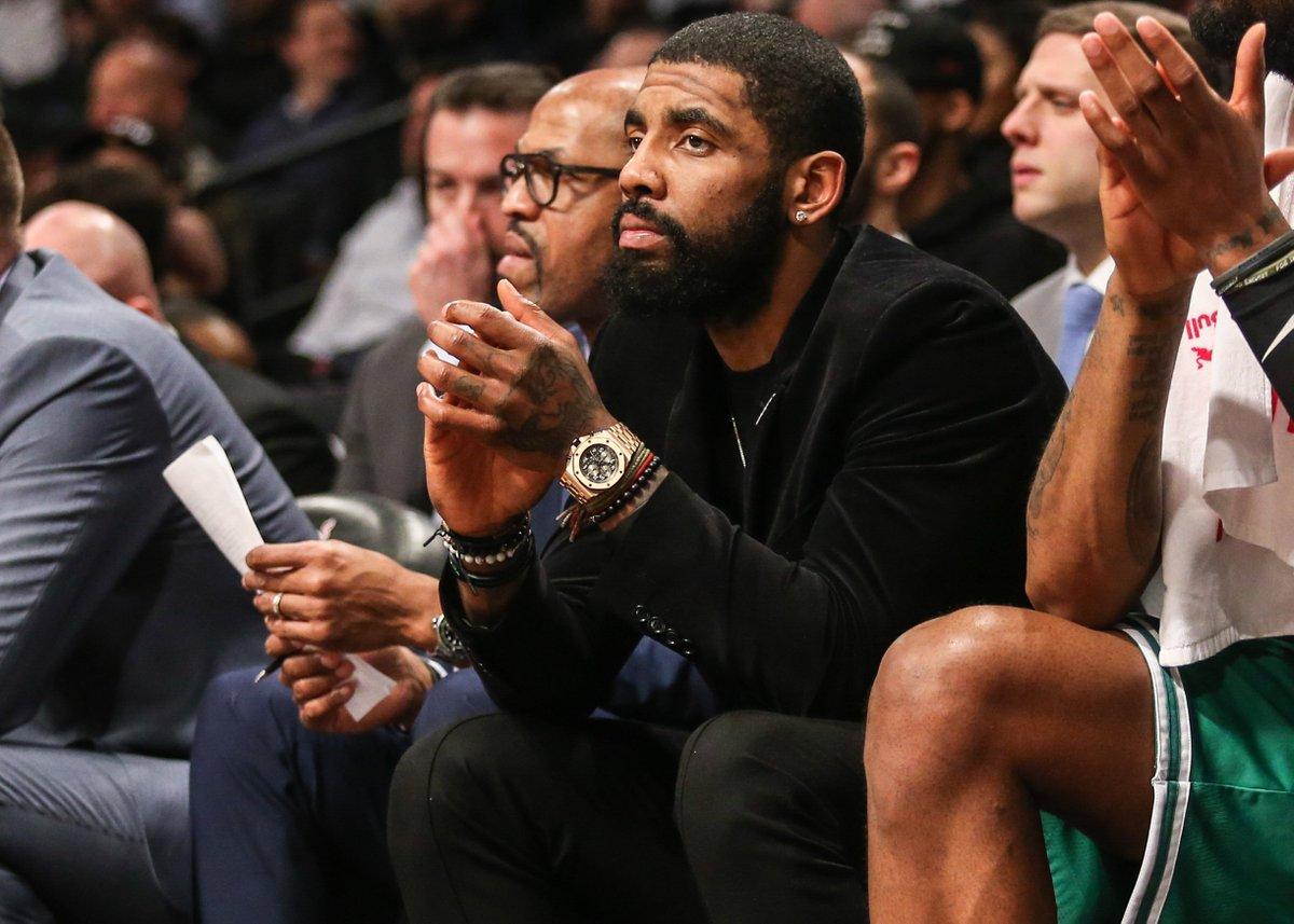 test Twitter Media - Kyrie Irving Allegedly Called Into A Boston Radio Show To Defend Himself #Celtics #NBAFreeAgency https://t.co/2EE85LQCFf https://t.co/KJrdtjTD7y
