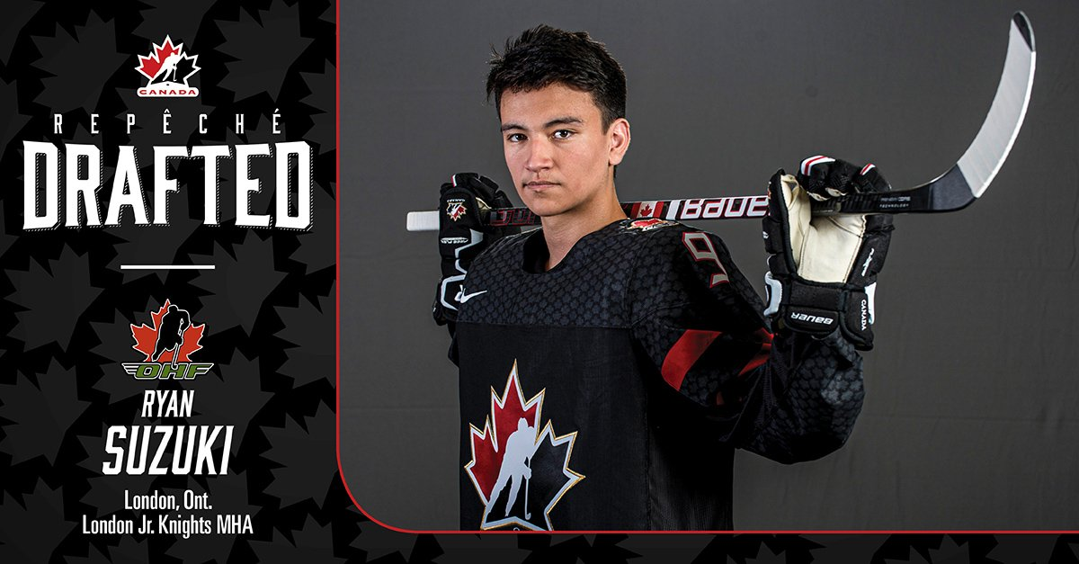 test Twitter Media - Ryan Suzuki has been selected 28th overall by the @NHLCanes in the 2019 #NHLDraft Your hard work has paid off Ryan!    #HockeyCanada @OHFHockey https://t.co/7rkoCHiuQL
