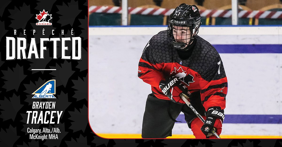 test Twitter Media - Brayden Tracey has been selected 29th overall by the @AnaheimDucks in the 2019 #NHLDraft Congrats Brayden!  #HockeyCanada @HockeyAlberta https://t.co/qFwczvuiEB