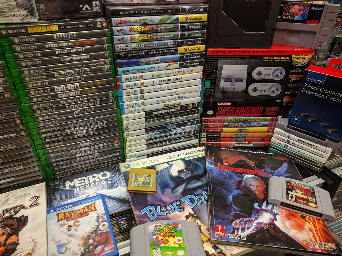 test Twitter Media - New today! 6/22/19 Huge Xbox One collection 😁 Oh, and ANOTHER Fire Emblem: Path of Radiance 🤯 #XboxOne #lifeisstrange #rage #metro #SNESclassic #SNES #WiiU #gamecube #fireemblem #finalfight #MarioParty #legendofzelda #pokemon #videogames #retro #gaming #pensacolafl #VGTPflorida https://t.co/WkbM9D7tI2