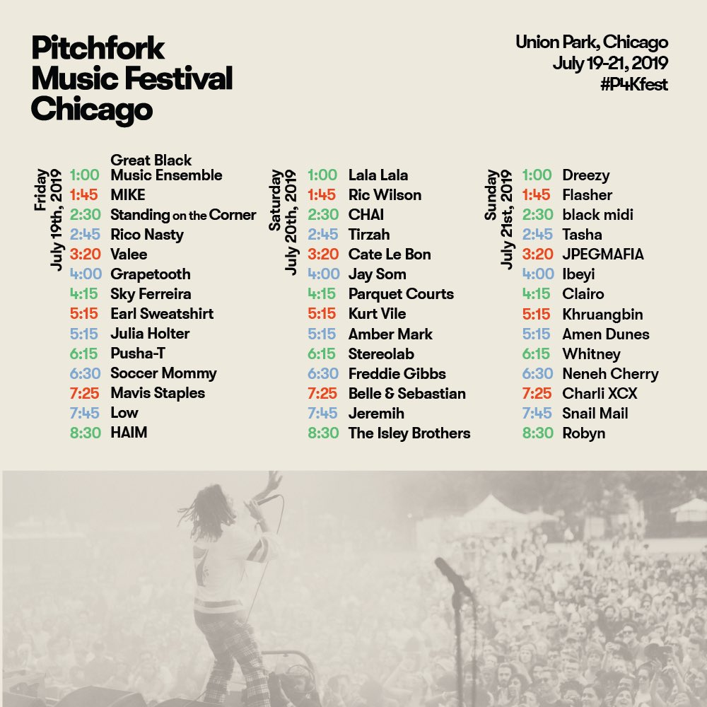 ???? CHICAGO - I PLAY PITCHFORK FEST ON JULY 21ST. LETS PARTY ???? https://t.co/2V5RrVOJmM https://t.co/8UJKxHVNKc