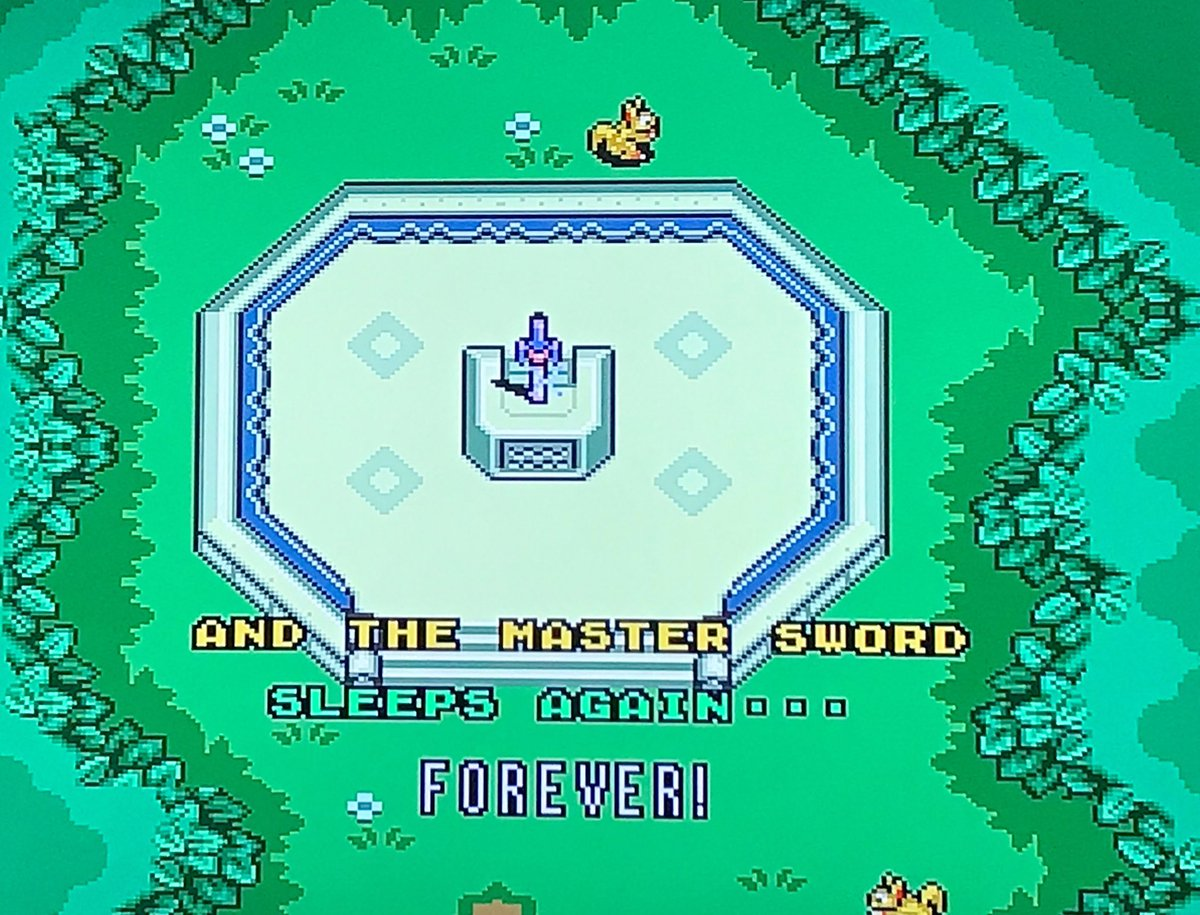 test Twitter Media - Forever is an awful long time... on to Link's Awakening! #SNES #SNESclassic https://t.co/tkB18ntMoF