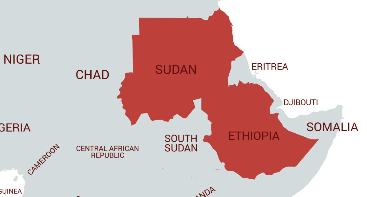 test Twitter Media - A contiguous area of Africa two thirds the size of the EU is currently cut off from the rest of the world due to internet shutdowns:  ⏱#Sudan: 20 days ⏱#Ethiopia: 10 hours  https://t.co/iYf1beSv2n  https://t.co/v2ex69YbbN  #KeepItOn https://t.co/PnO4IwRkRe