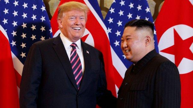 Kim Jong Un receives 'excellent' letter from Trump