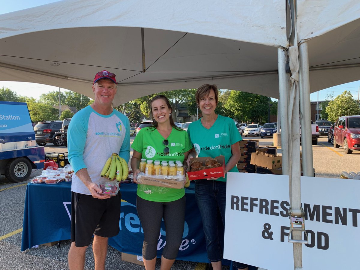 test Twitter Media - Thank u to sponsors @TimHortons & @DelFrescoPure for keeping our riders hydrated& nourished!! #RideDontHide https://t.co/BGloWB5pw9