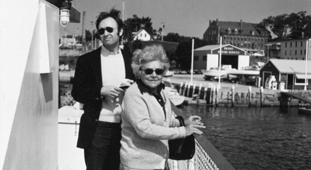test Twitter Media - RT @GarthGreenwell: Frank Bidart and Elizabeth Bishop in 1974. https://t.co/SvWbTNsWEt