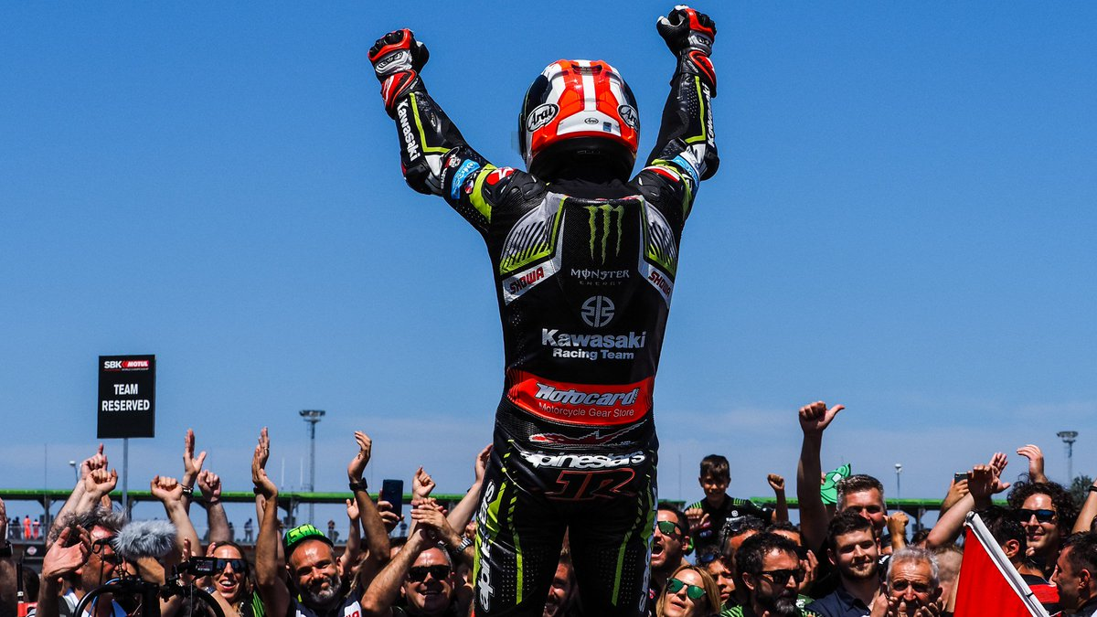 test Twitter Media - 🏆 @jonathanrea reflects on 75th WorldSBK career win after crucial Misano Race 2!  From 61 to 16: Jonathan Rea's determination and resilience has seen him close right in on Alvaro Bautista in the WorldSBK title fight!  #RiminiWorldSBK🇮🇹  📃| #WorldSBK    https://t.co/kNqOf3pObJ https://t.co/DamXNFDPTX