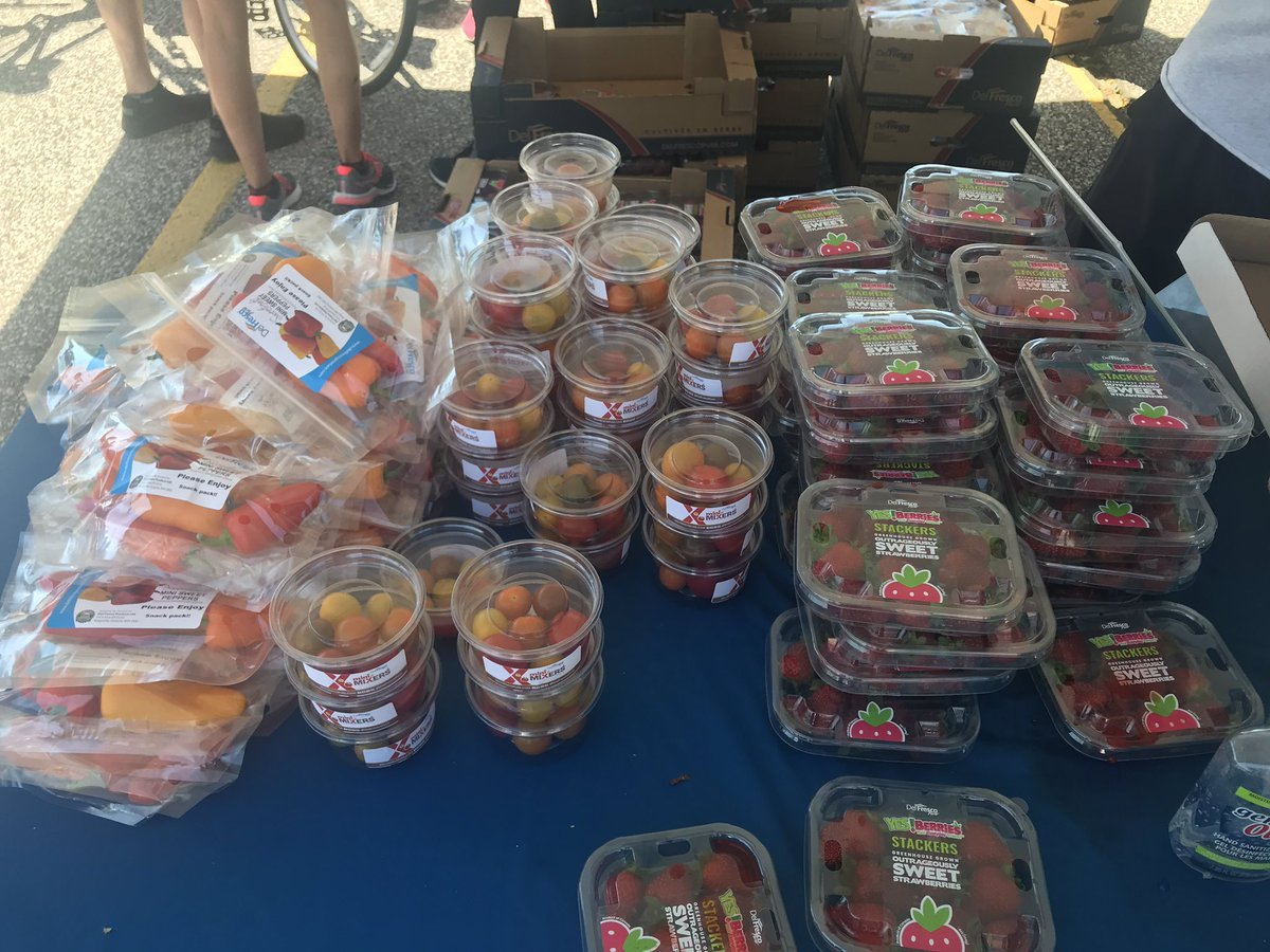 test Twitter Media - Thank you @DelFrescoPure - everyone LOVED the fresh peppers, tomatoes and strawberries.  What a treat!   #YQG Your support is appreciated by us and our riders.  #RideDontHide https://t.co/n3eHXqBDDk