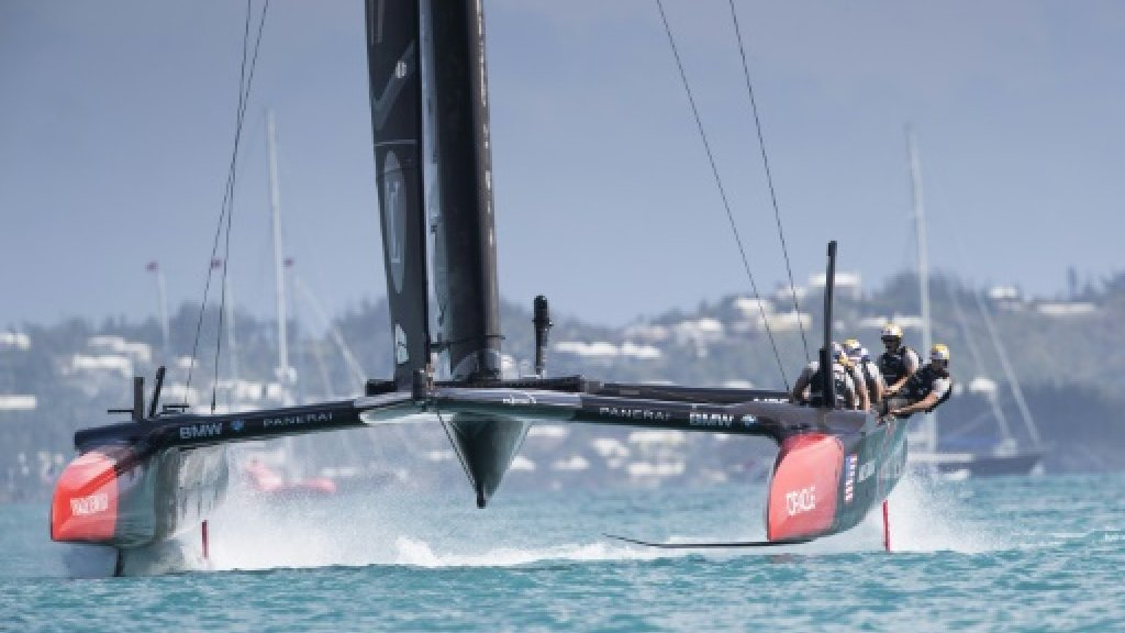 First defeat for USA, but America's Cup holders still in control