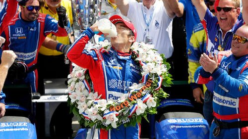 Takuma Sato becomes first Japanese driver to win the Indianapolis 500