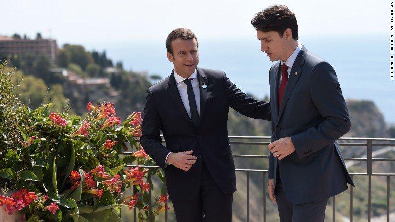 El nuevo 'bromance' de la política internacional cuando Trudeau conoció a Macron