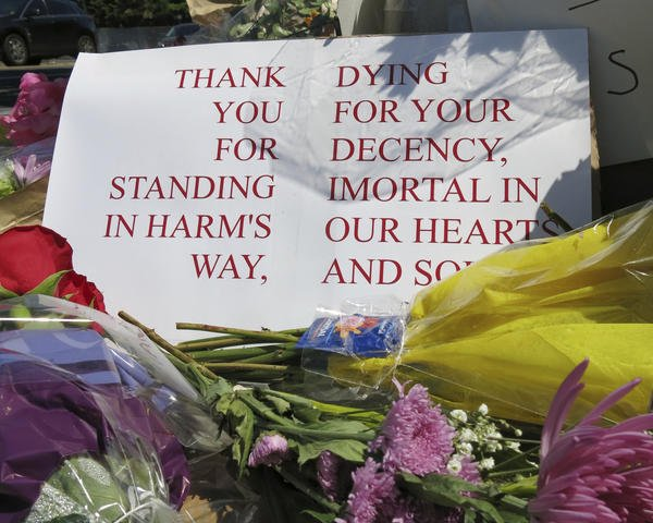 Muslims in Portland thank community, raise money for families of 'heroes' who defended young women