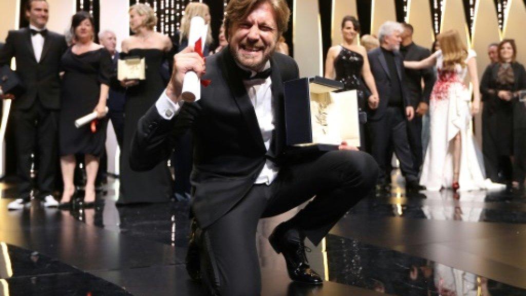 Sweden's Ostlund, from witty ski bum to top Cannes winner