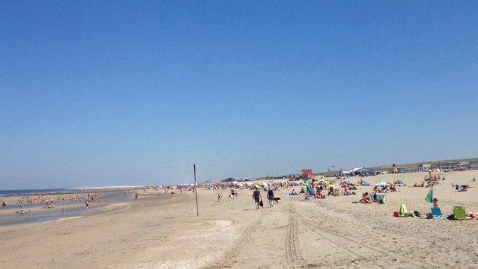 Strand bij Ter Heijde loopt vol. Alle parkeergelegenheid is vol. Lekker oostenwindje zeewater voelt fris aan https://t.co/3VtswgDv8b