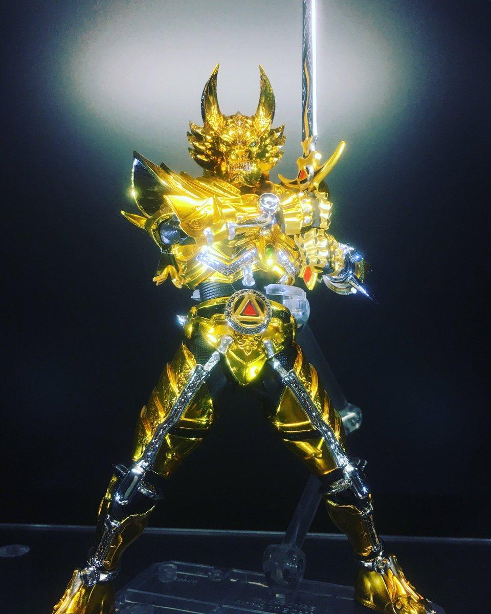 S.H.Figuarts 真骨頂製法 黄金騎士ガロが、かなり期待できる件。 #魂大阪 #garo
