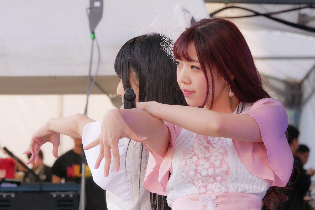 阿蘇ロックフェスティバルにて、6/14リリースの「桜色ダイアリー」に収録される妄キャリとでんぱ組.incのユニット曲を初