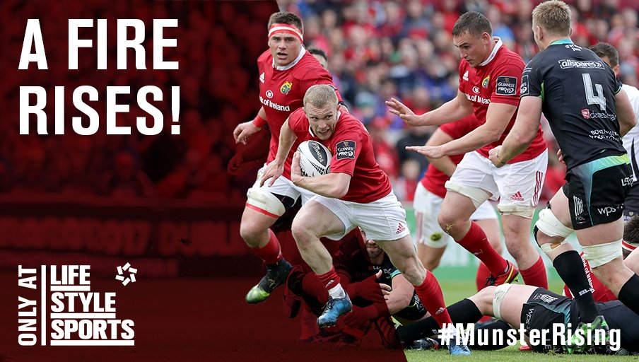The Scarlets may bring the heat but Munster will bring the fire. #MunsterRising #MUNVSCA https://t.co/3E9bBF9wFX