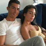 Photo  of Cristiano Ronaldo and girlfriend spark rumors that she's pregnant