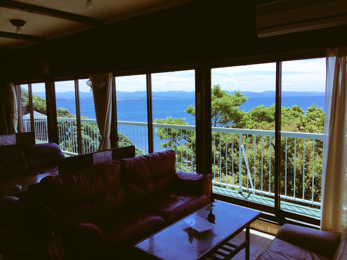 和歌山の、海沿いの、この世界の片隅に、世界いち気持ちのいい喫茶店、ありました。