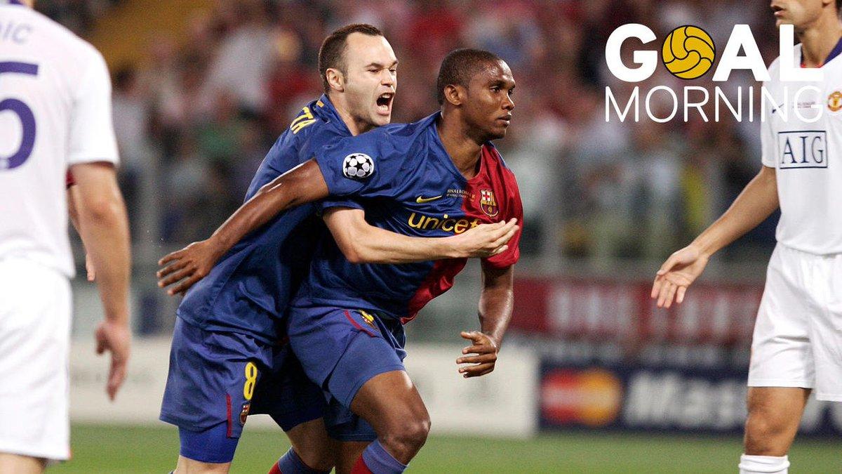 G⚽️AL MORNING!!!Un 27 de mayo de 2009 el Barça levantaba su tercera Liga de Campeones. Hoy hace 8 años 🏆🏆🏆
