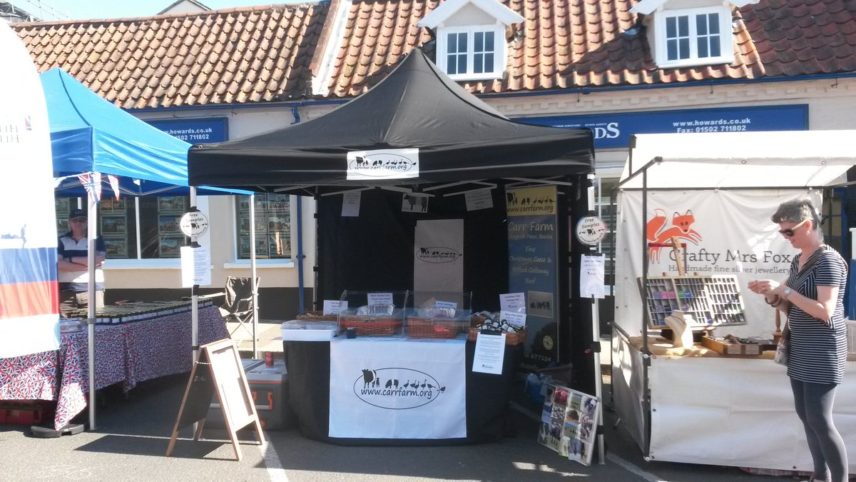 test Twitter Media - All set up at Beccles Food Fair on this lovely morning. https://t.co/GSB6hx5AqS