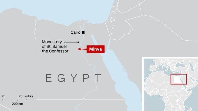 Death toll in Egypt attack on Christians rises to 29