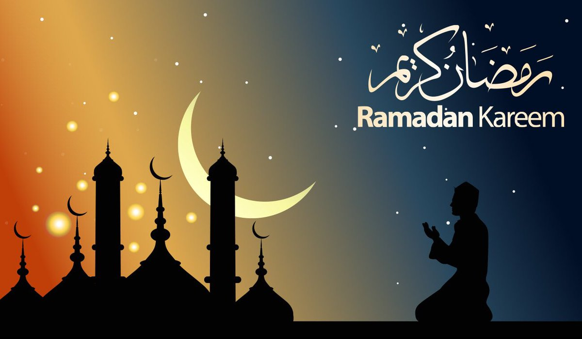 Ramadan Mubarak eveybody ! May Allah accept your prayers And forgive us for our sins ! 🙏🏿 #happy #fasting