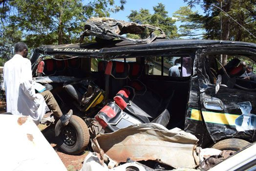 Nine killed, several injured in separate road accidents