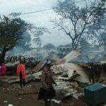 Traders count losses after fire razes shops at Homa Bay market