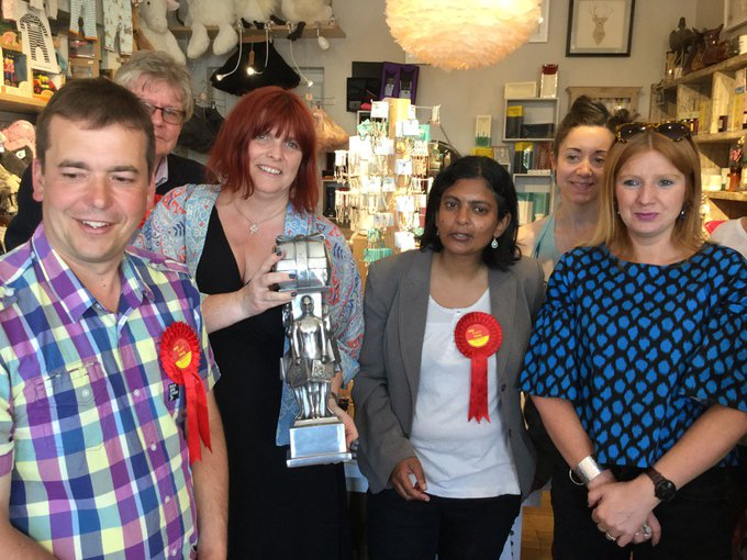 Happy 1st birthday to the award-winning Great to visit Sandra&Evelyn w