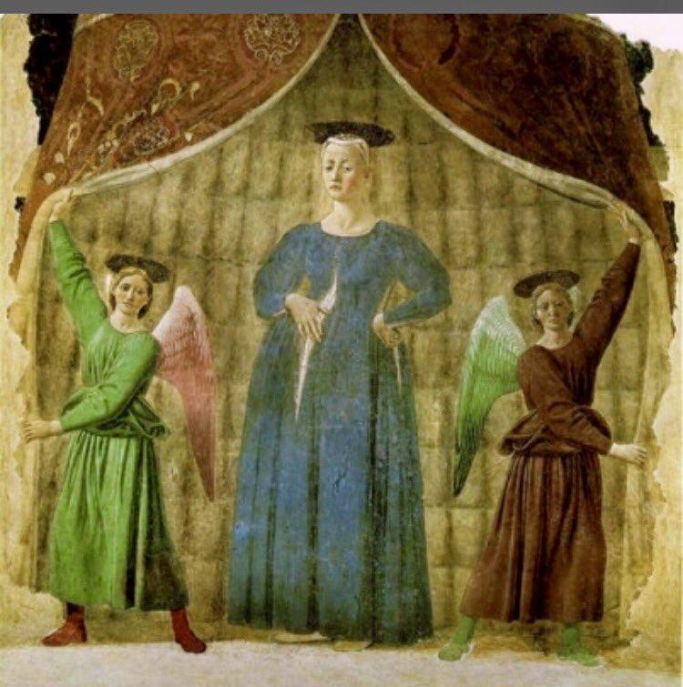 カワウソカンパニー事務所移転記念で美術部も本命出します❗️ルネッサーンス期の巨匠ピエロ・デッラ・フランチェスカ様の「出産