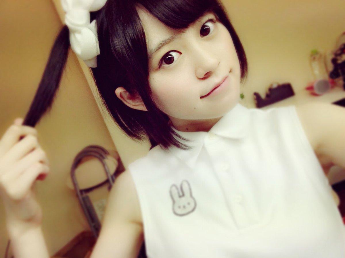 今日はありがとうございましたー!久しぶりのうさかめ衣装ということで髪の毛も結んでみました✩明日は大阪だよ!!!!!関西の
