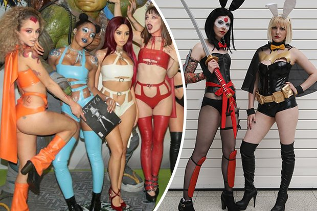 Cosplay Babes Bare All In Super Raunchy Display At London Comic Con Https